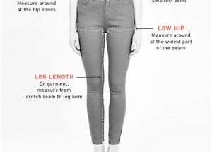 How to know a basic long pant measurement ?