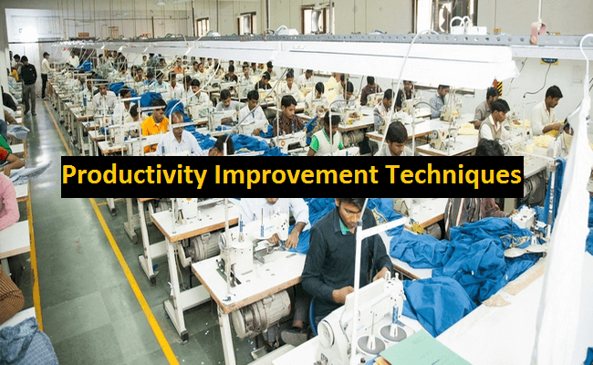 How to improve garments productivity by motion study?